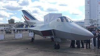 Milli muharip uçağın birebir modeli ilk defa Paris Air Show'da sergileniyor