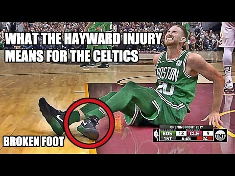 What The Gordon Hayward Injury Means For The Celtics