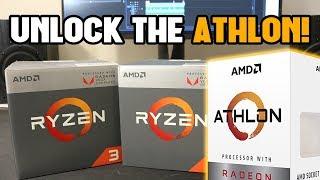 AMD Should Just Unlock the Athlon 200GE