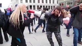Freeze flash mob in Oslo