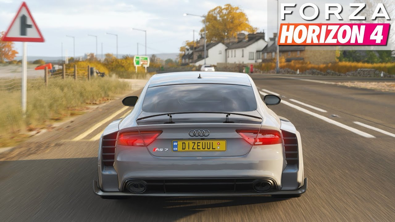Forza Horizon 4 - Audi RS7 Sportback WIDEBODY | Gameplay
