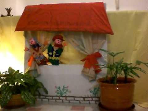 Presentaci n teatro de t teres 004 avi youtube - Hacer una piscina de obra ...