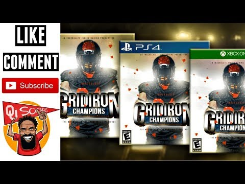 VIDEO GAME COLLEGE FOOTBALL NEWS: Gridiron Champions Debuts 2020 thumbnail