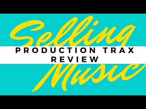 ProductionTrax Review Sites to Sell Stock Music