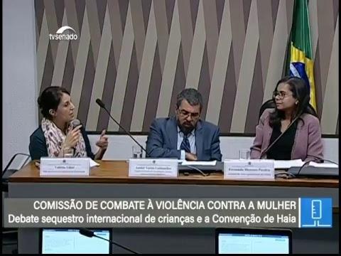Violência Contra a Mulher - TV Senado ao vivo - CMCVM - 06/06/2018