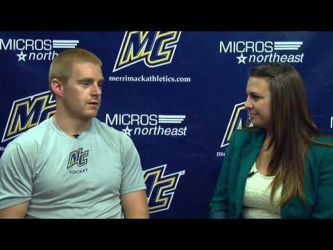 Hockey East Preseason Interview with Merrimack