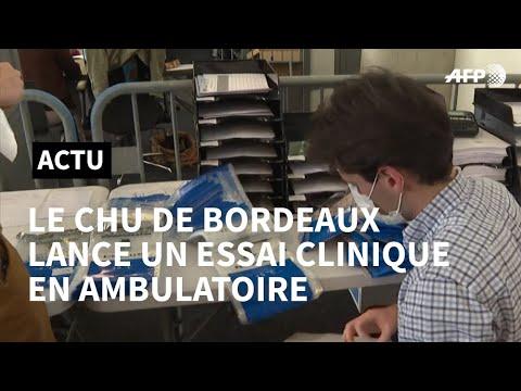 Covid-19: le CHU de Bordeaux lance un essai clinique en ambulatoire | AFP