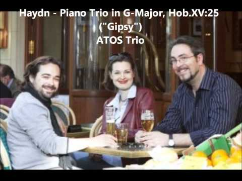 "ATOS Trio: J.Haydn - Piano Trio in G-Major, Hob.XV:25 ""Gipsy"""