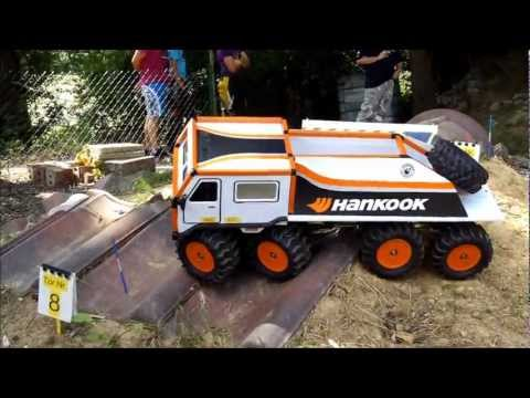 RC Truck Trial 4. Europameiserschaft RC-Truck-Trial in Brechen