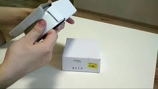 Распаковка Миски керамической Trixie для котов 300 мл из Rozetka.com.ua