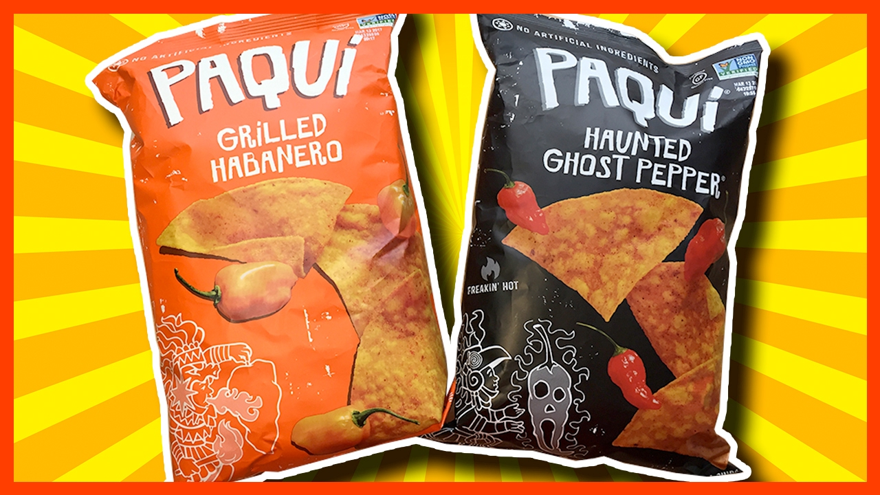 Haunted Ghost Pepper VS PAQUI Grilled Habanero Paqui Co ...