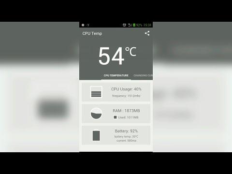 Как проверить температуру телефона