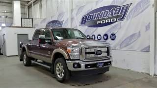 Pre-owned 2011 Ford Super Duty F-350 SRW CrewCab Lariat W/ 6.7L Overview I Boundary Ford