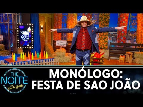 Monólogo: Festa de São João  The Noite 240619