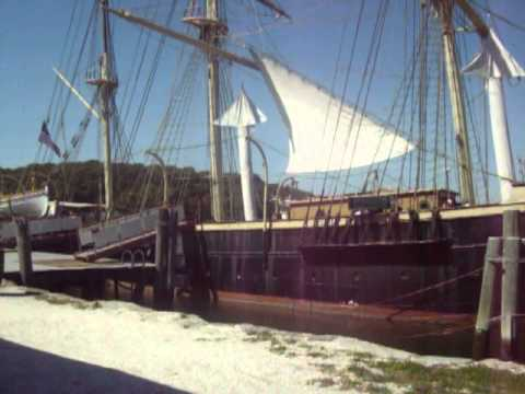MYSTIC SEAPORT, MARYLAND REAL OLD SHIP