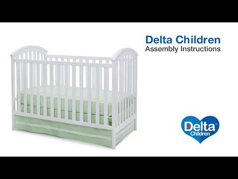 Delta Children Arbour 3-in-1 Crib Assembly Video