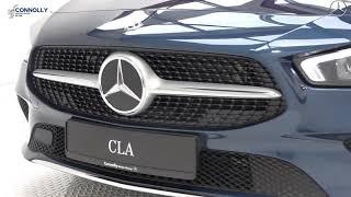 CMG Mercedes-Benz Sligo: New 2019 #028986 CLA 180d Auto Blue Exterior / Biege Interior