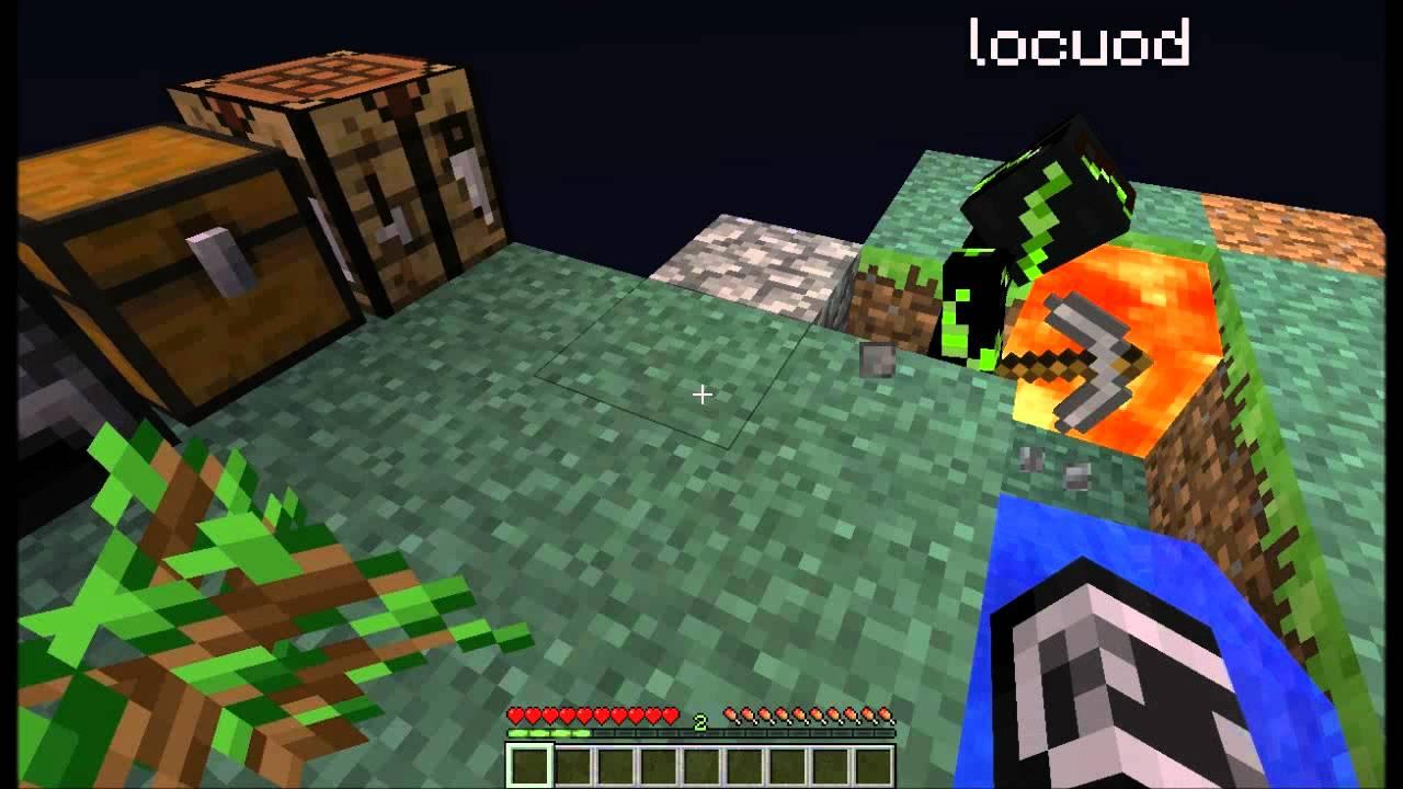 Gradini Di Legno Minecraft : Minecraft skyblock ep l ospite youtube