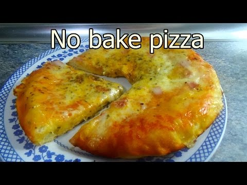 NO BAKE PIZZA - Tasty and easy food recipes for dinner to make at home - Cooking videos