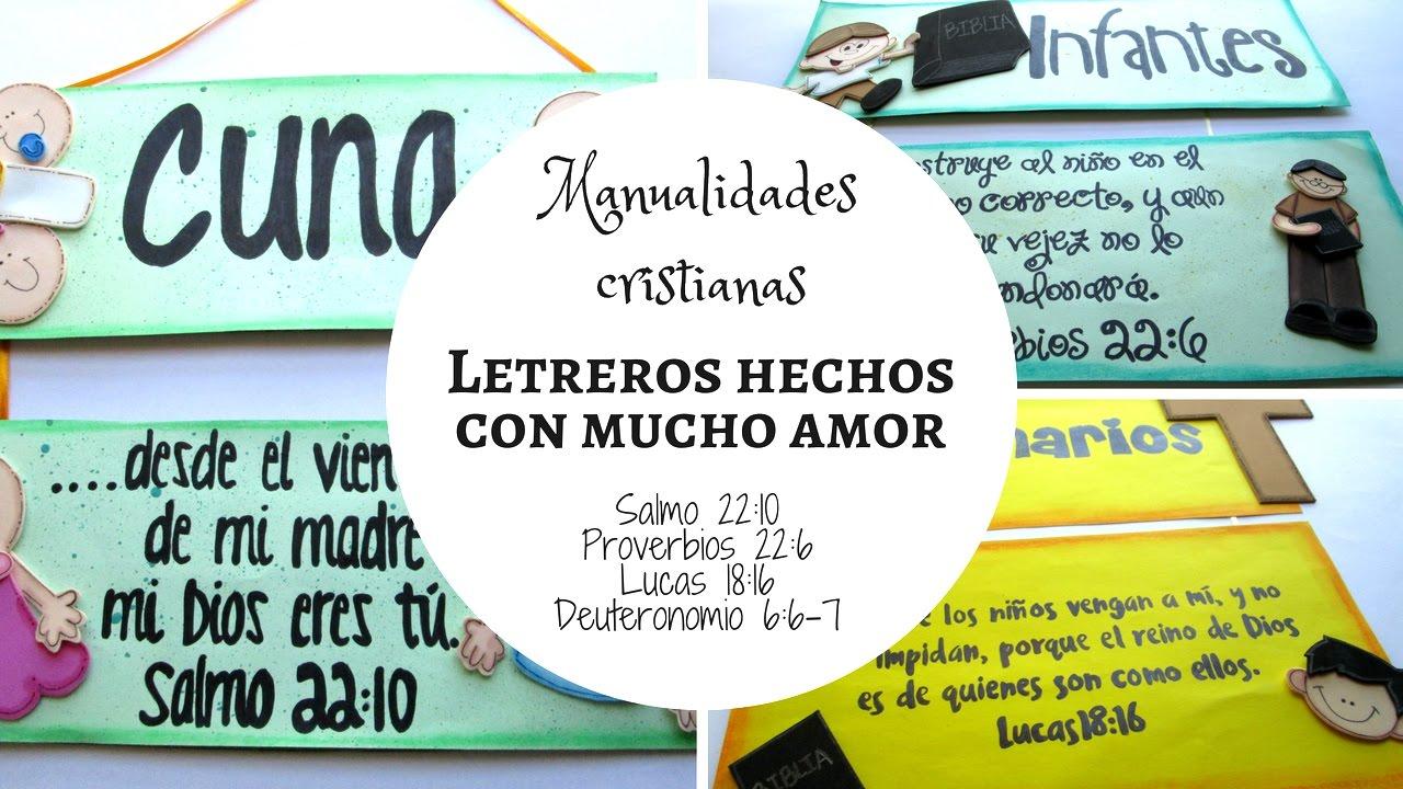 Manualidades Cristianas/Letreros para las divisiones ... | 1280 x 720 jpeg 171kB