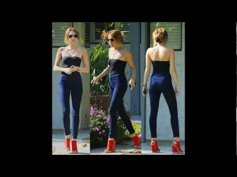 Miley Cyrus Style - Best of her outfits and looks 2010 - 2012