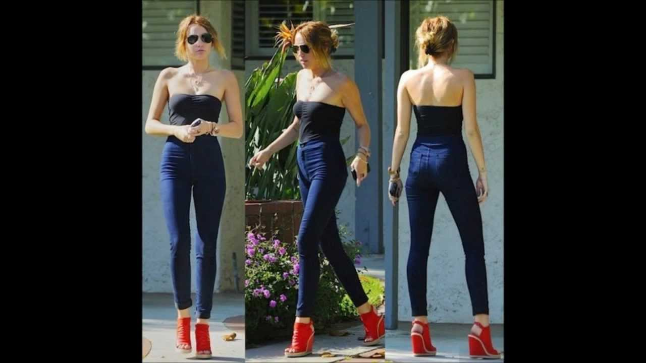 Miley Cyrus Style Best Of Her Outfits And Looks 2010 2012 Youtube