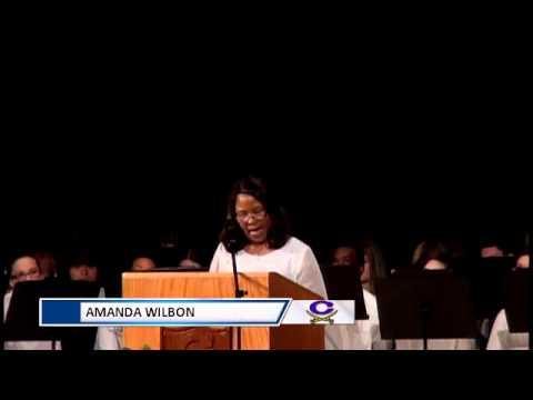 2015 Cass High Baccalaureate: Amanda Ward, Teacher of the Year