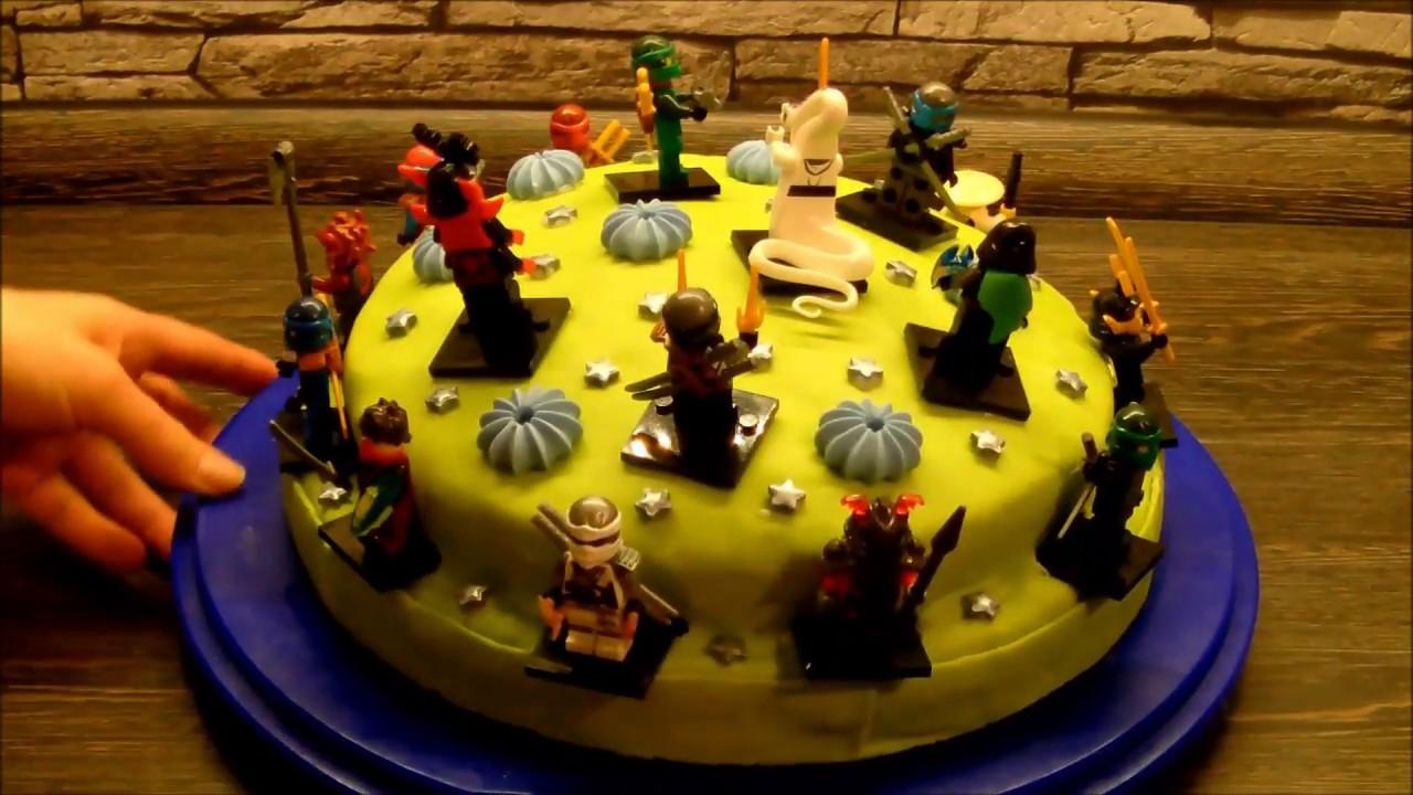 Ninjago Torte 2 in einem Geschenk und Torte Super Idee  YouTube