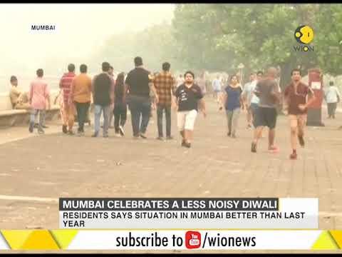 Mumbai celebrates a less noisy Diwali