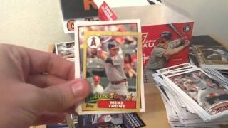 2012 Topps Update Baseball Jumbo Box Break For Charity