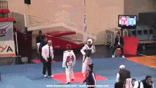 49kg Nurgul Celik vs Sevval Hilal Demir (2013 Turkish Senyor TKD Championships) 2017 Video