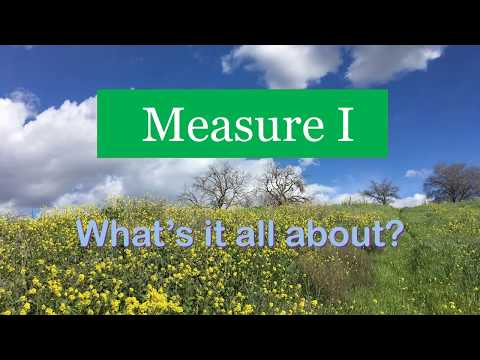 Measure I - Park and Open Space Protection - Martinez, CA