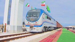 Selyemút síneken - megnyílt a Kazahsztán-Türkmenisztán-Irán vasútvonal - economy