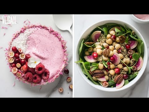 WHAT I EAT IN A DAY AS A VEGAN // CRANBERRY EDITION