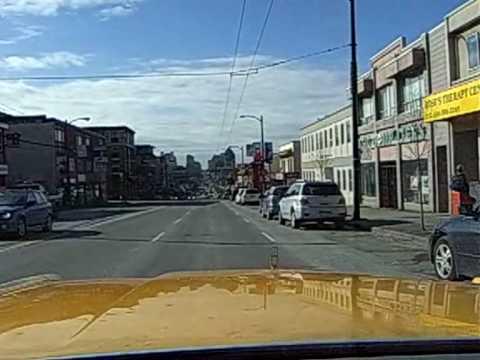San Francisco in my Mercury Marquis 1980