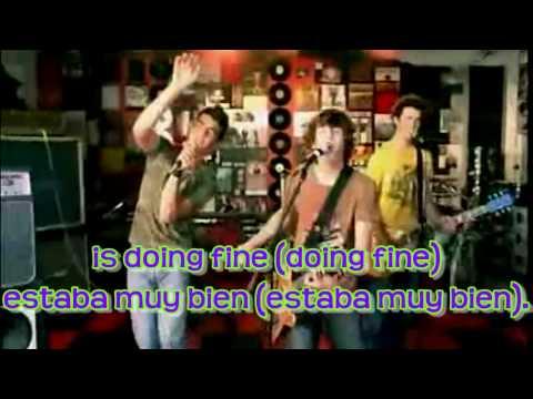 Jonas Brothers - Year 3000 Lyrics English & Spanish (HD)