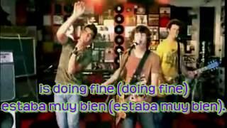 Jonas Brothers - Year 3000 Lyrics English & Spanish (HD)