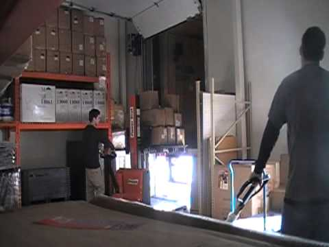 1 of 3 Warehouse Shipping and Receiving Videos | Presto Power Stak Fully Powered Stackers | Forklift