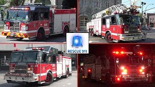 Montreal Fire Services - Part 4 // Service Incendie Montreal (compilation)