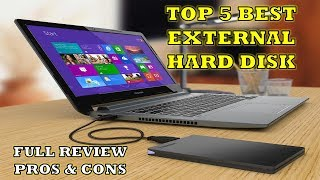 Top 5 External Hard Disk - Review with Pros & Cons [Hindi]    2018