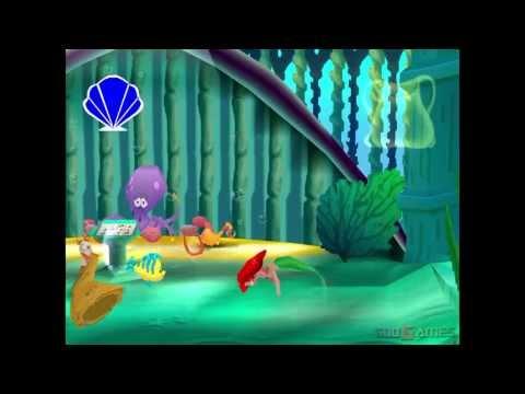 Disneys Little Mermaid II: Return to the Sea - Gameplay PSX (PS One) HD 720P (Playstation classics)