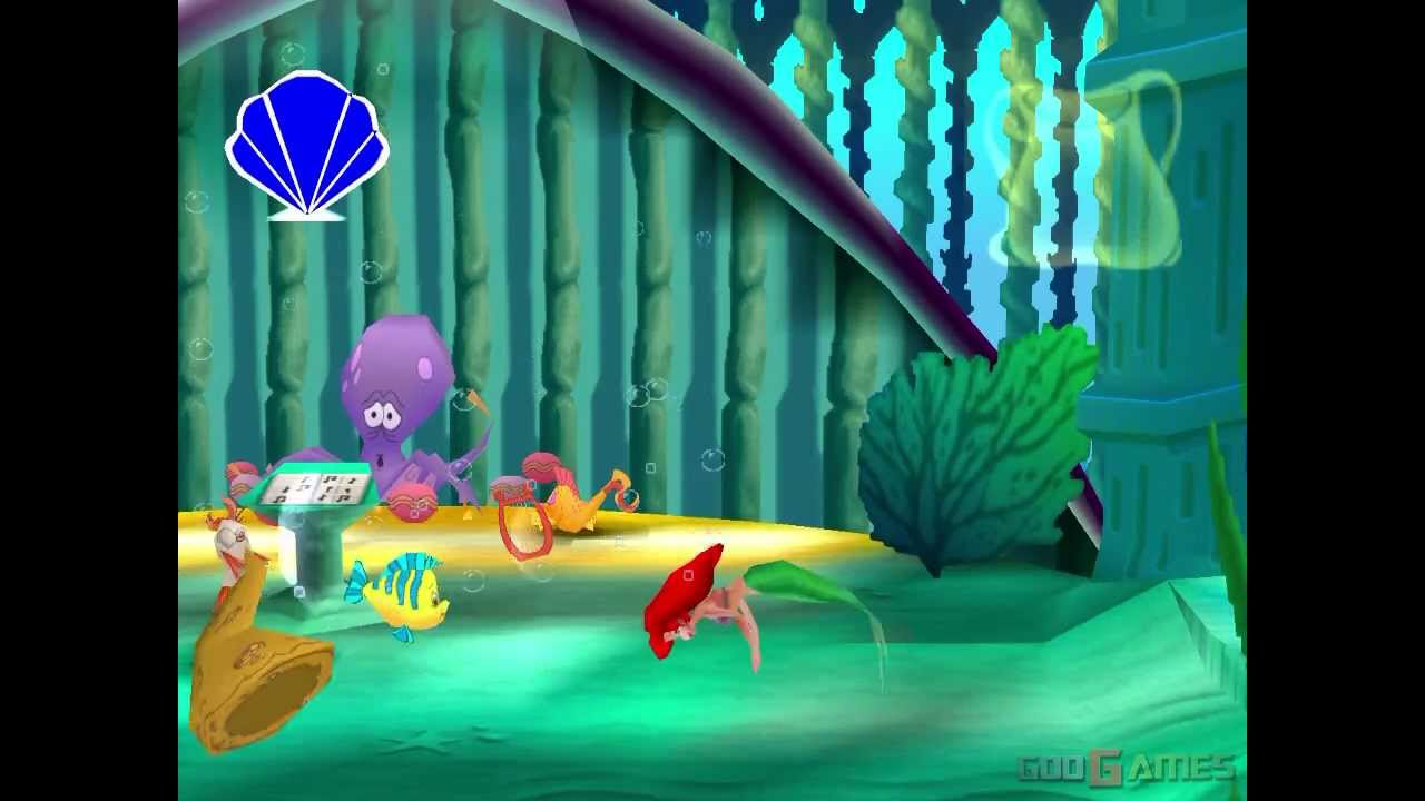 I Want To Download Cute Wallpapers Disney S Little Mermaid Ii Return To The Sea Gameplay