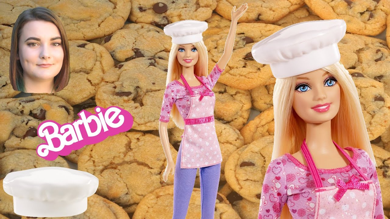 Barbie Careers Cookie Chef Doll - YouTube