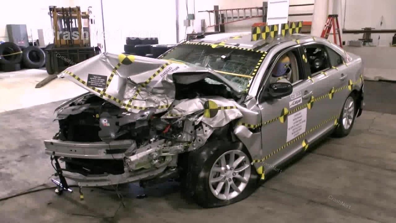 2013 Ford Taurus Crash Test Documentation Frontal