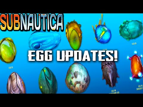 "Subnautica | ""EGG UPDATES"" 