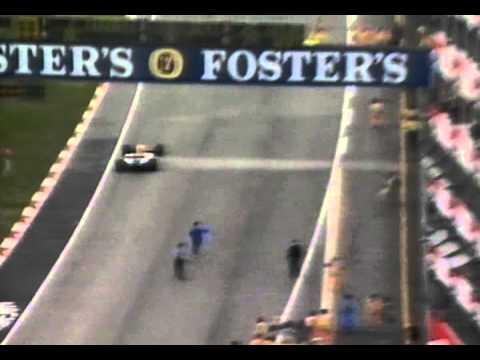 Imola 1993 JJ brokes engine last lap 2