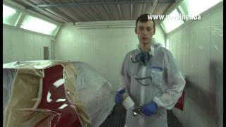 Mobihel - car body painting technology (часть 16 - Нанесение лака Anti Scratch FG)(, 2013-12-25T11:27:14.000Z)