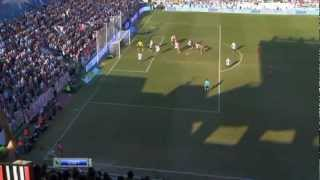 Cristiano Ronaldo beautiful backheel goal vs Rayo Vallecano - Goal of the season 2011-2012