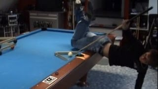 Insane Pool Trickshots