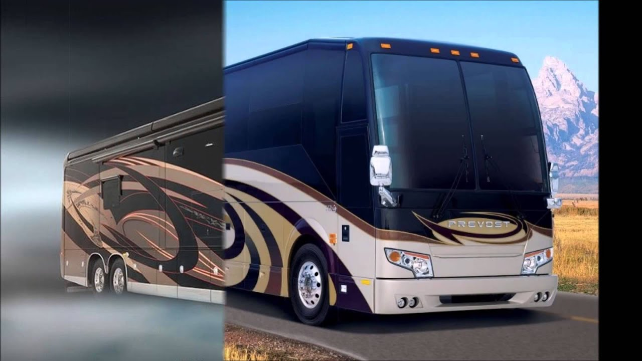 Top 10 Expensive Luxury Buses in the World - YouTube